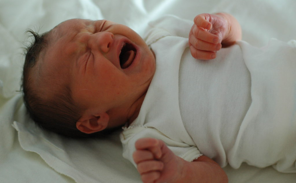 How To Relieve Gas Pain In Infants Naturally- crying baby