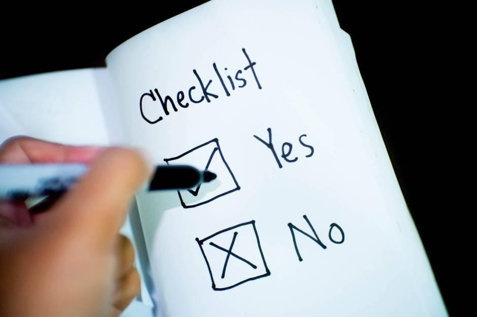 Third Trimester Pregnancy Checklist