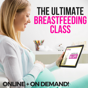 12 tips for breastfeeding with flat nipples- the ultimate breastfeeding class by Milkology