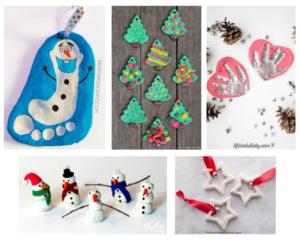 Christmas-craft-using-play-dough