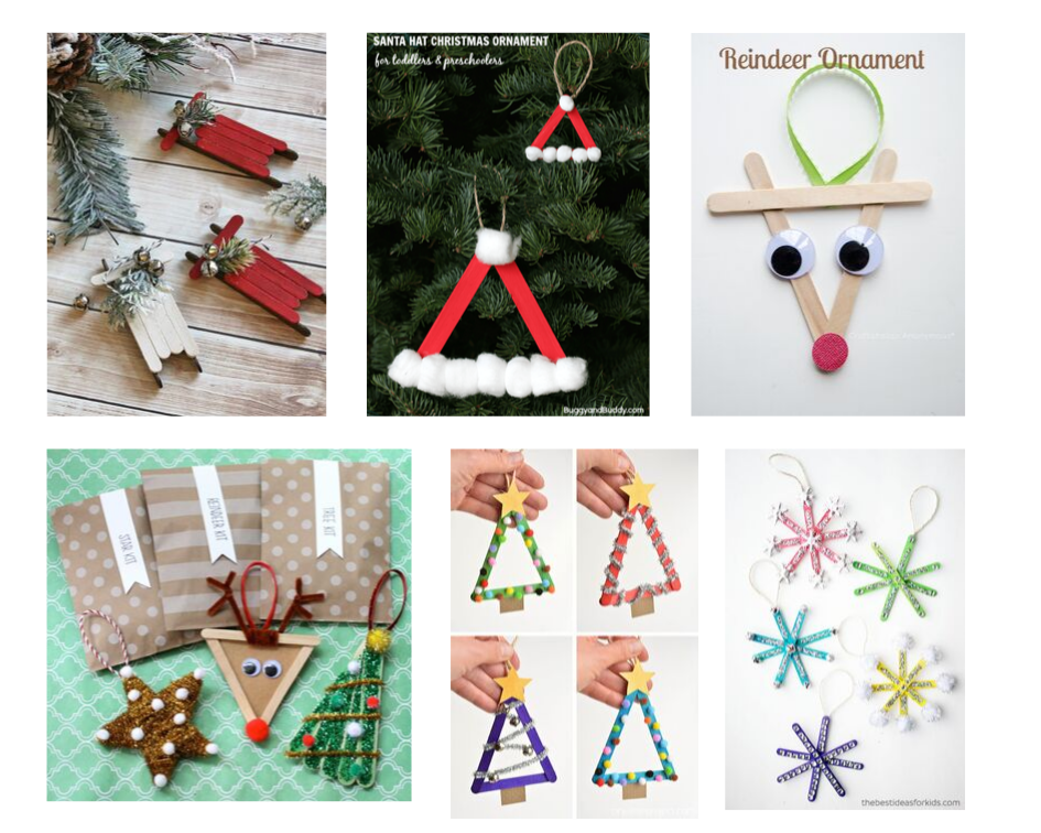 Christmas-craft-using -Popsicle -sticks