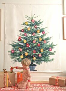 12 ways to baby proof a Christmas tree