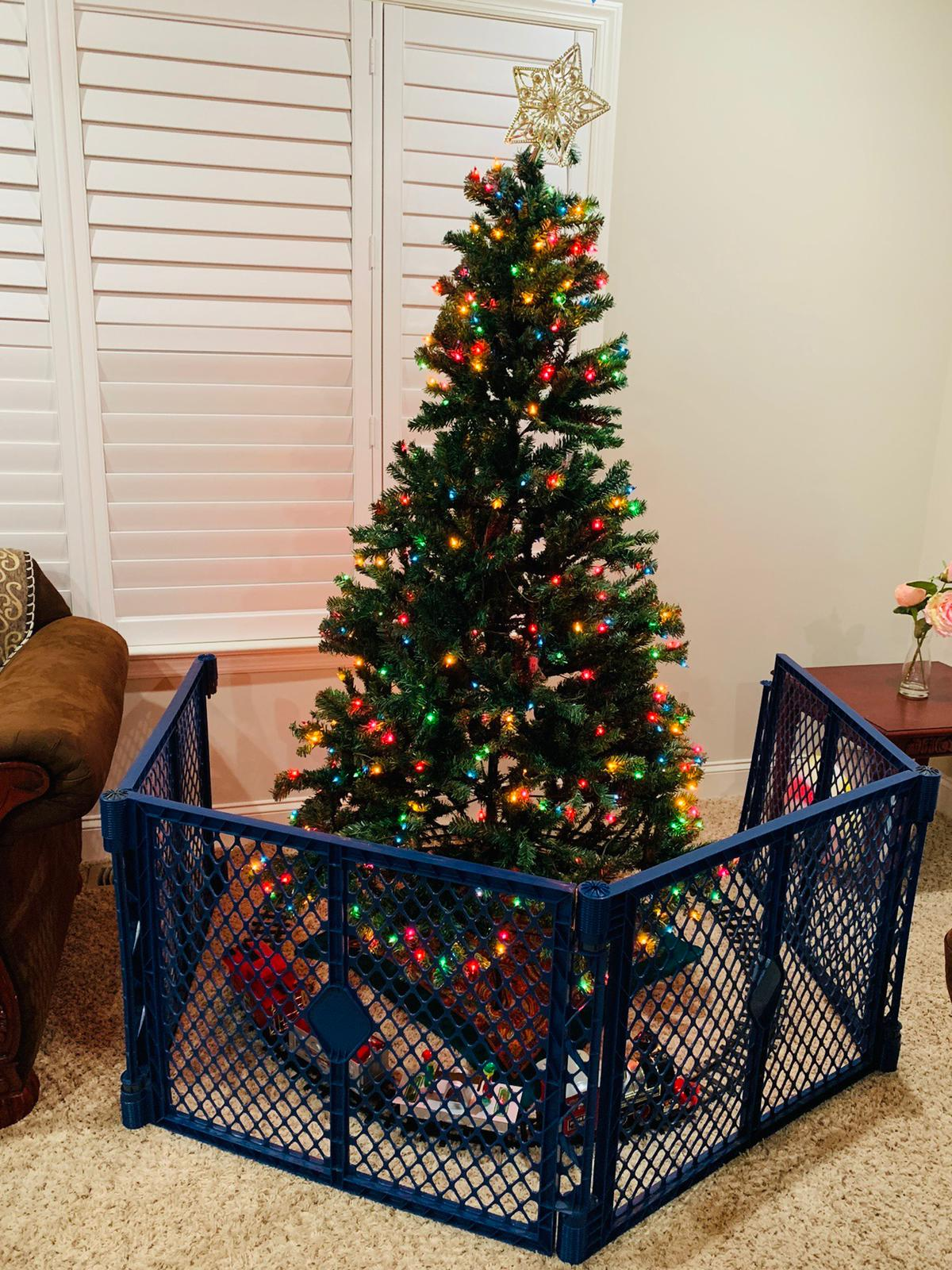 Baby Proof a Christmas Tree