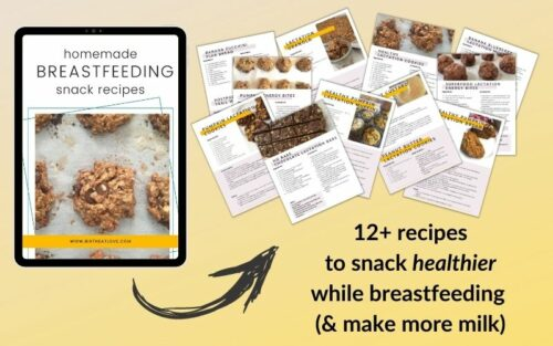 Breastfeeding Snack Recipe