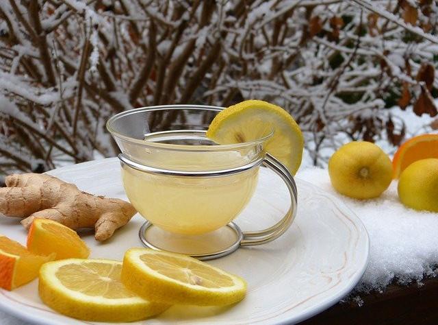 Natural Remedies for Colds and Flu during Pregnancy- ginger,lemon tea