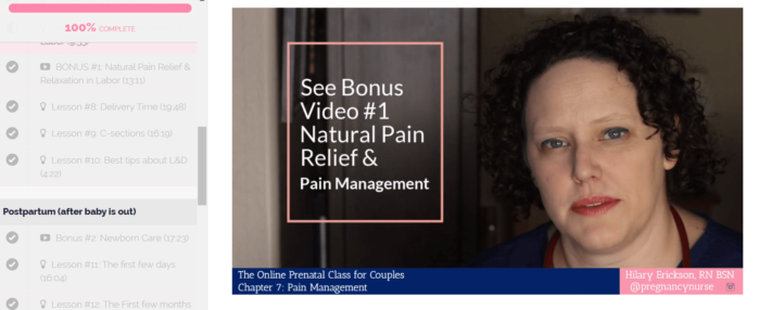 The Online Prenatal Class for Couples by Pulling Curls Review