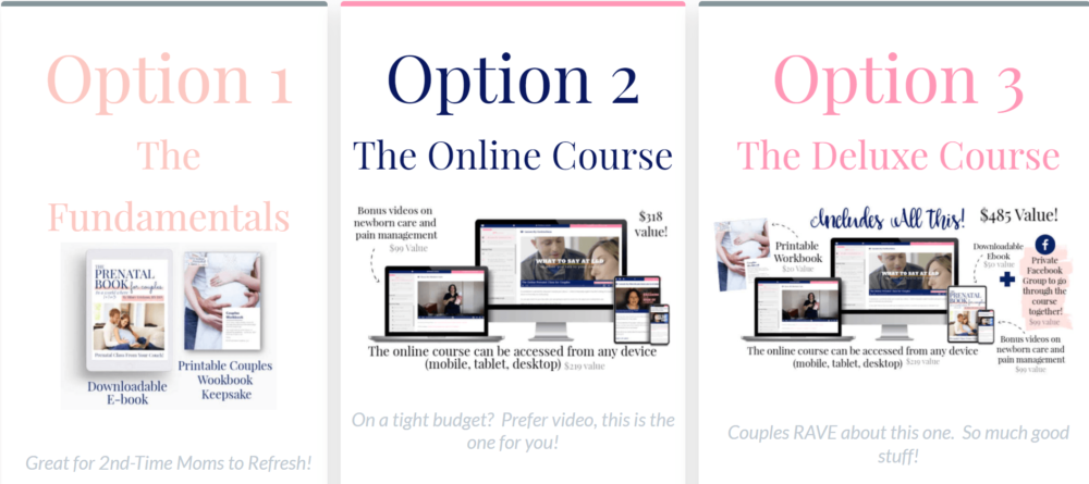 The Online Prenatal Class for Couples by Pulling Curls Review 2020