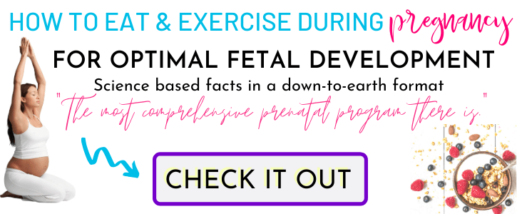 Prenatal Nutrition and Fitness Program