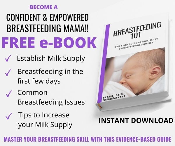 Free breastfeeding e-book for first time moms