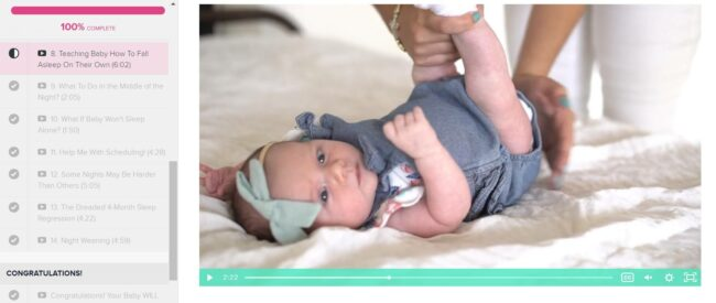 Baby, We're Home! Now Let's Sleep: Newborn Sleep Course Review