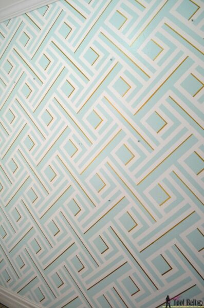 30 Trendy Geometric Wall Painting Ideas for a Boy's Room