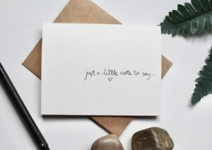 Creative Ways to Announce Pregnancy to Immediate Family - custom card to announce pregnancy to parents who live far away