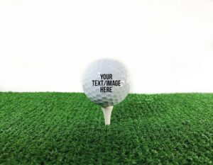Creative Ways to Announce Pregnancy to Immediate Family - personalized golf ball