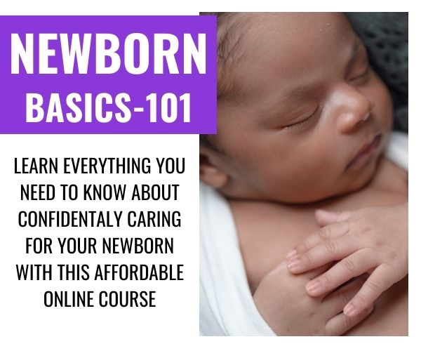 Newborn basics 101 - Newborn care class by mommy labor nurse
