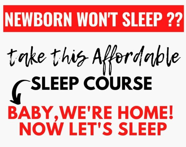 Baby we're Home, Now let's sleep - Andrea sleep consultant