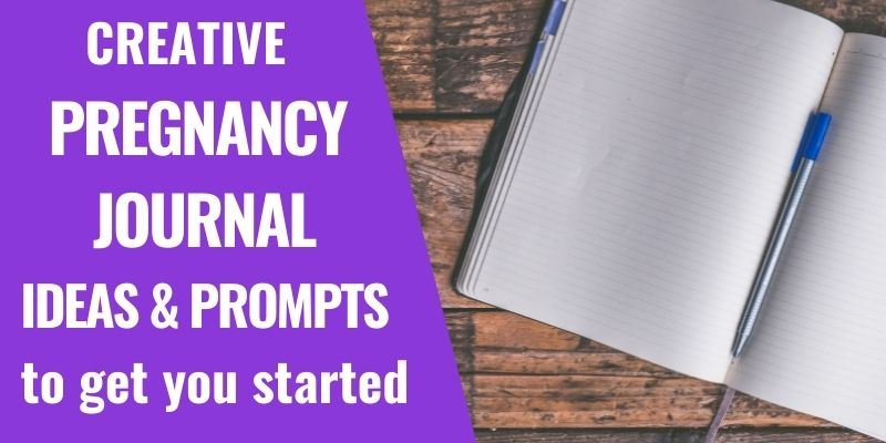 Creative Pregnancy Journal Ideas and Prompts for your DIY Project