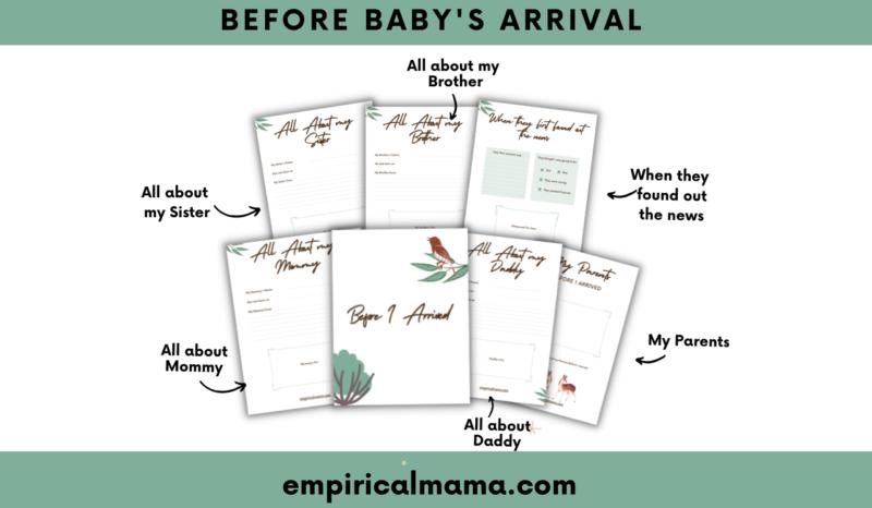 My Baby Book - Baby memory book