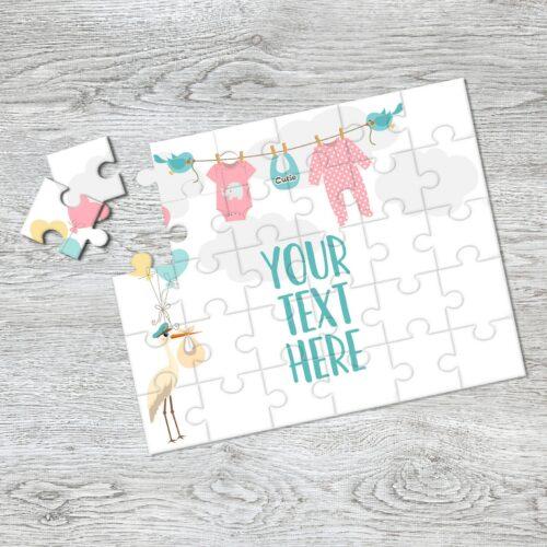 pregnancy announcement puzzle