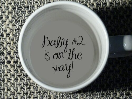 pregnancy announcement mug to announce pregnancy to parents who are already grandparents
